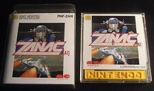 very good zanac and super mario 2  Family Computer Disk System Nintendo Japan