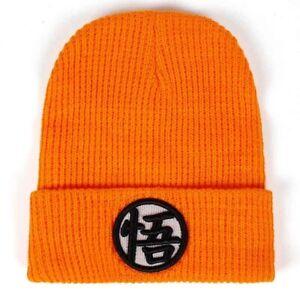 Cap Dragon Ball Z Goku Logo Orange Adult Beanie Hat