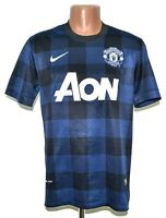MANCHESTER UNITED ENGLAND 2013/2014 AWAY FOOTBALL SHIRT JERSEY NIKE SIZE M ADULT