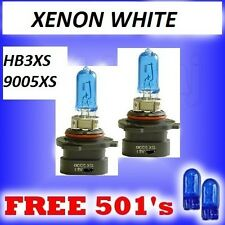 9005xs hb3xs Xenon Lampadine JEEP & CHRYSLER Super Bianco