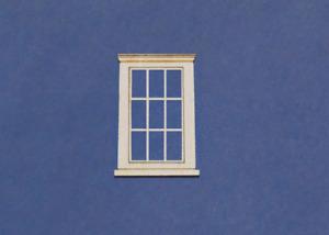 1:48 Scale Dollhouse Miniature Window