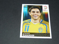 N°405 JOHAN ELMANDER SUEDE SVERIGE PANINI FOOTBALL UEFA EURO 2008