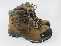 Vasque Hiking Boots Gore-Tex Brown Leather Women's Size 6 M 7161