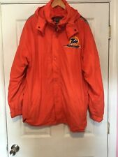 Tide Racing PPE Motorsports Team Issued Heavy Hooded Winter Jacket Size Lg