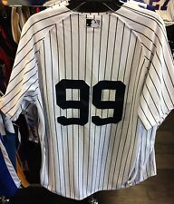New York Yankees Aaron Judge Home Pinstripe Pro Double Polyester Jersey 40 MLB