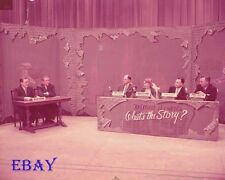 What's The Story 1952 Vintage  4  X  5  TRANSPARENCY Game Show