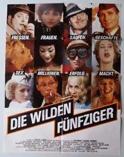 Die wilden Fünfziger Peter Zadek original A1 Filmplakat  P31