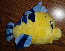 Little Mermaid Flounder the Yellow Fish Stuffed Animal Plush Toy