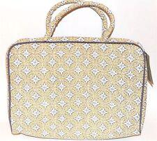 Raymond Waites Cosmetic Bag Travel Organizer Great Pattern With Nice Handle New
