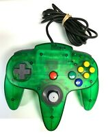 N64 Jungle Green Controller Good Stick Tested Nintendo 64 Authentic Official OEM