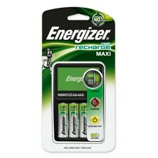 Energizer Maxi Charger AA and AAA + 4x AA 1300mAh NiMH Rechargeable Batteries
