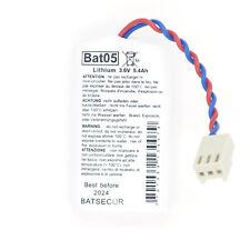 Pile Lithium BAT05 3.6V 5.4Ah -compatible BATLi05 3.6V 4Ah DAITEM HAGER