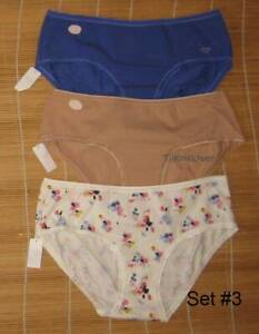 3 Gap Body Love by Gap Cotton Panties HIPSTER Size Medium You choose set