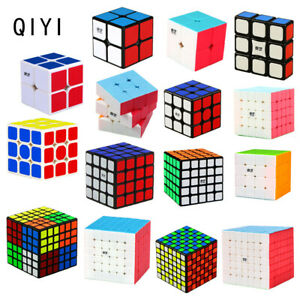 2-7 Level No Sticker Magic Cube Rubik Puzzle Super Smooth Speed Xmas Toy Gifts