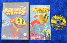 PAC Man World 2, Nintendo GameCube juego, instrucciones OVP