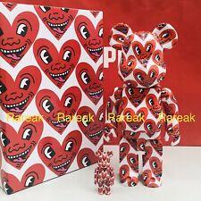 Medicom Be@rbrick 2020 Keith Haring Ver.# 6 Painting 400% + 100% bearbrick Set