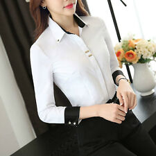 2017 New women OL Career Business Shirt Formal blouses office ladies tops X666