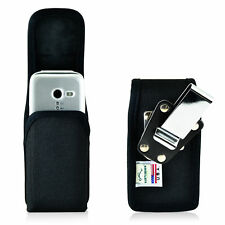 Doro PhoneEasy 626 Holster Metal belt Clip Case Pouch Nylon Vertical Turtleback