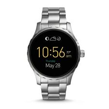 FOSSIL Watch FTW2109 Men's Q Marshal Touchscreen Smartwatch Bracelet Silver