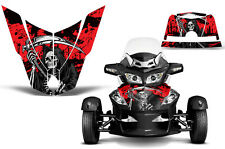 Can Am BRP RTS Spyder Roadster Hood Graphic Kit Decal Sticker Wrap 10-11 REAP R