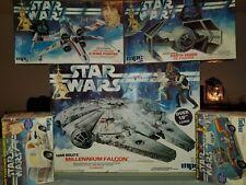 Vintage Star Wars Model Lot Qty 5