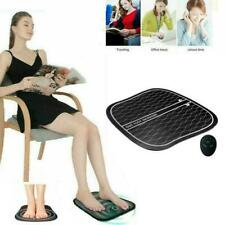 Circulation Machine Booster Foot Rest Leg Blood Massager Machine Remote Control.