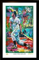 SALE 50% OFF WILLIE MAYS L.E. 56/99 PREMIUM ART PRINT SIGNED BY ARTIST, WINFORD