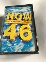 Now That's What I Call Music Vol 46 / 2000 Cassette Tape / Tested
