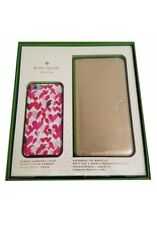 Kate Spade NY Gift Set iPhone 6S Plus Saffiano Gold Wristlet&Confetti Harts Case