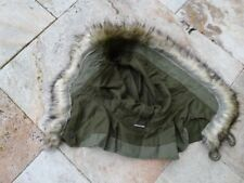 US Army Fellkapuze Kapuze Hood Fur Rim OG-107 SHELL PARKA M51 M65 Fishtail NAM