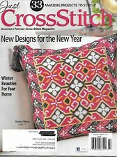 Just Cross Stitch Magazine, February 2015