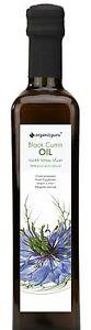 Black Seed Cumin Oil Nigella Sativa 100% Pure Cold Pressed Unrefined Oil