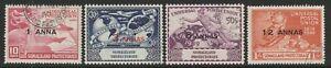 Somaliland 1949 Universal Postal Union set SG 121-124 Fine used.