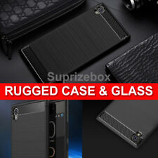 for Sony Xperia L1 360 Shockproof Case Cover and Tempered Glass Protector