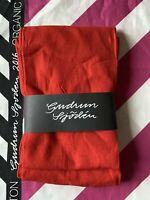 BNWT Gudrun Sjoden Size XXL UK 22 Bright Red Footless Tights