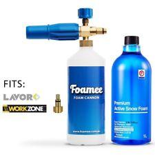 Foamee Snow Foam Lance Cannon Gun Detergent Bundle - Aldi Workzone & Lavor