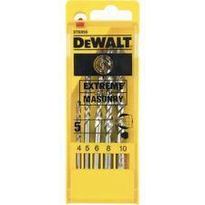 Set 5 punte da trapano per muro da 4 a 10 mm codice DT6956-QZ marca DEWALT