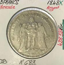5 FRANCS HERCULE - 1848K - Pièce de monnaie en Argent // TB