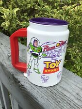Whirley Insulated Travel MUG Toy Story Buzz Lightyear Pizza Planet Disney Pixar