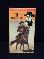 CAPTAIN APACHE - VHS - LEE VAN CLEEF - CARROLL BAKER - Brilliant Color