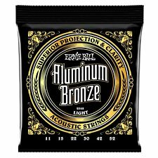 Ernie Ball Aluminum Bronze Light 11-52