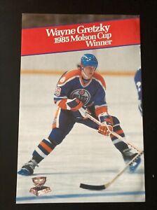 1985 Wayne Gretzky Molson Cup Winner Poster - Edmonton Oilers