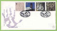 G.B. 2000 Art & Craft set on u/a Royal Mail First Day Cover, London SE1