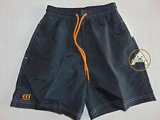 MISTRAL Boxer S Shorts Costume Beach Pantaloncini NERO Vintage Mare 2005