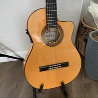 Cordoba 55FCE Nylon String Flamenco Guitar Made In Spain