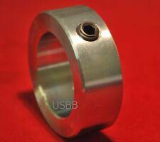 (Qty 6) 5/8 Shaft Collars Zinc Plated Solid Collar, Stop Collar (USBB SC062)