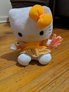 FIFA 2002 World Cup Hello Kitty Reversible Plush McDonald's Happy Meal Toy