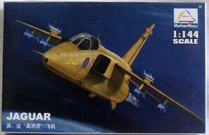 "80415 UK FR ""JAGUAR"" fighter Plastic Model Kits  Assembled Aircraft 1/144"