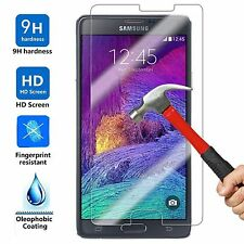 Premium Gorilla Tempered Glass Film Screen Protector for Samsung Galaxy Note 4