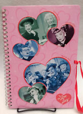 I Love Lucy Tin Journal Notebook with Silk Ribbon Tie